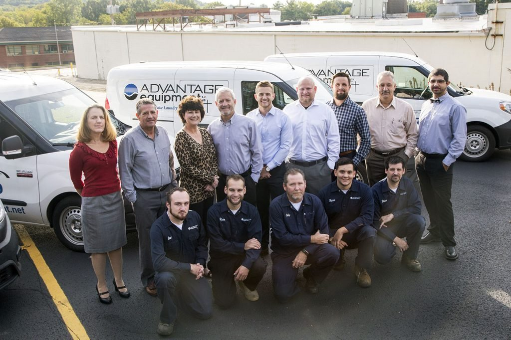 Commercial Laundry Equipment Team At Advantage Equipment