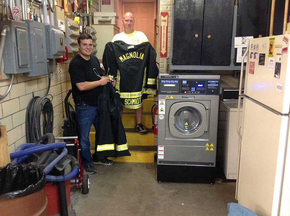 Fire Gear Washer Customer