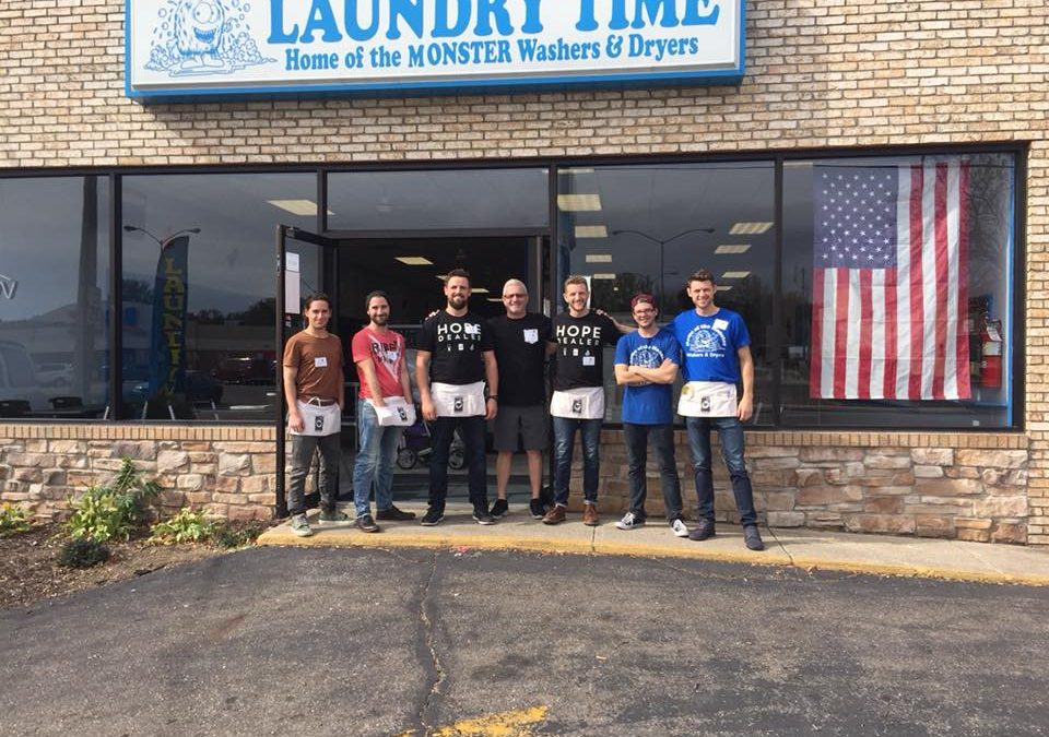 Advantage Equipment To Sponsor Laundry Project