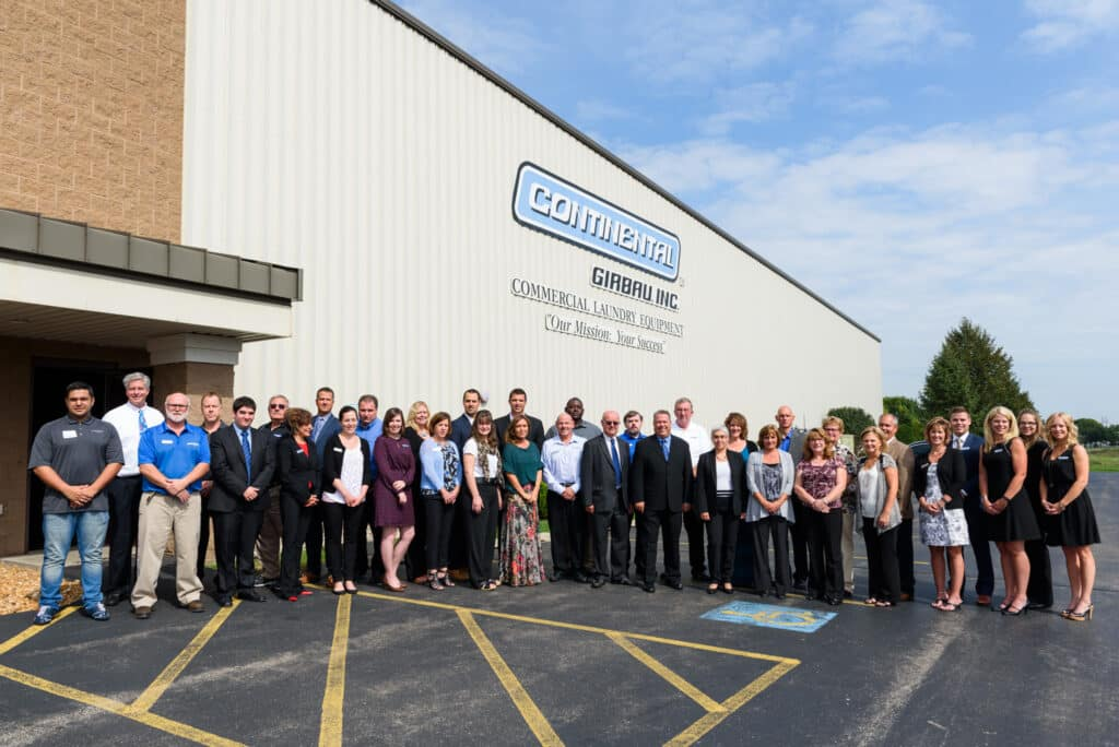 Continental Girbau staff celebrates 20 years in business