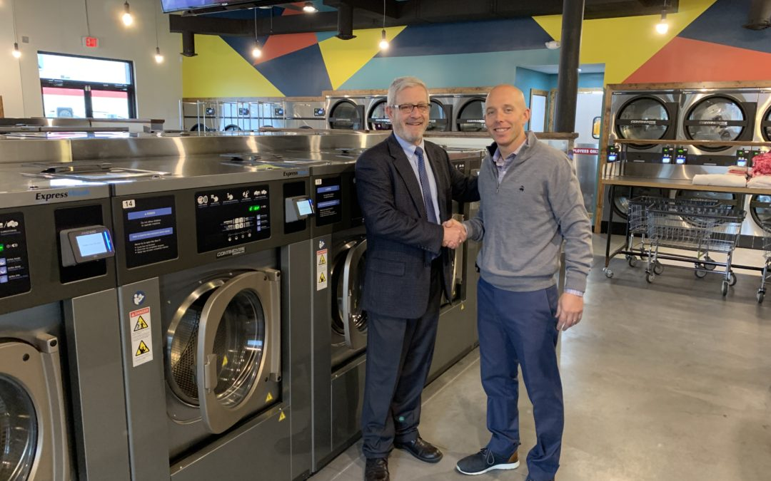 Advantage Equipment Partners With City Cleaners To Bring Laundromat To Akron, Ohio