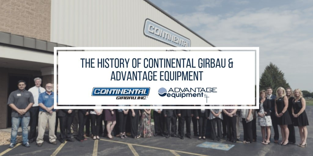 the history of continental girbau and advantage equipment