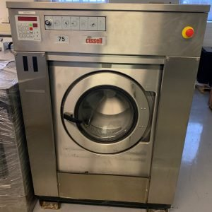 Used Cissell 75lb soft mount commercial washer