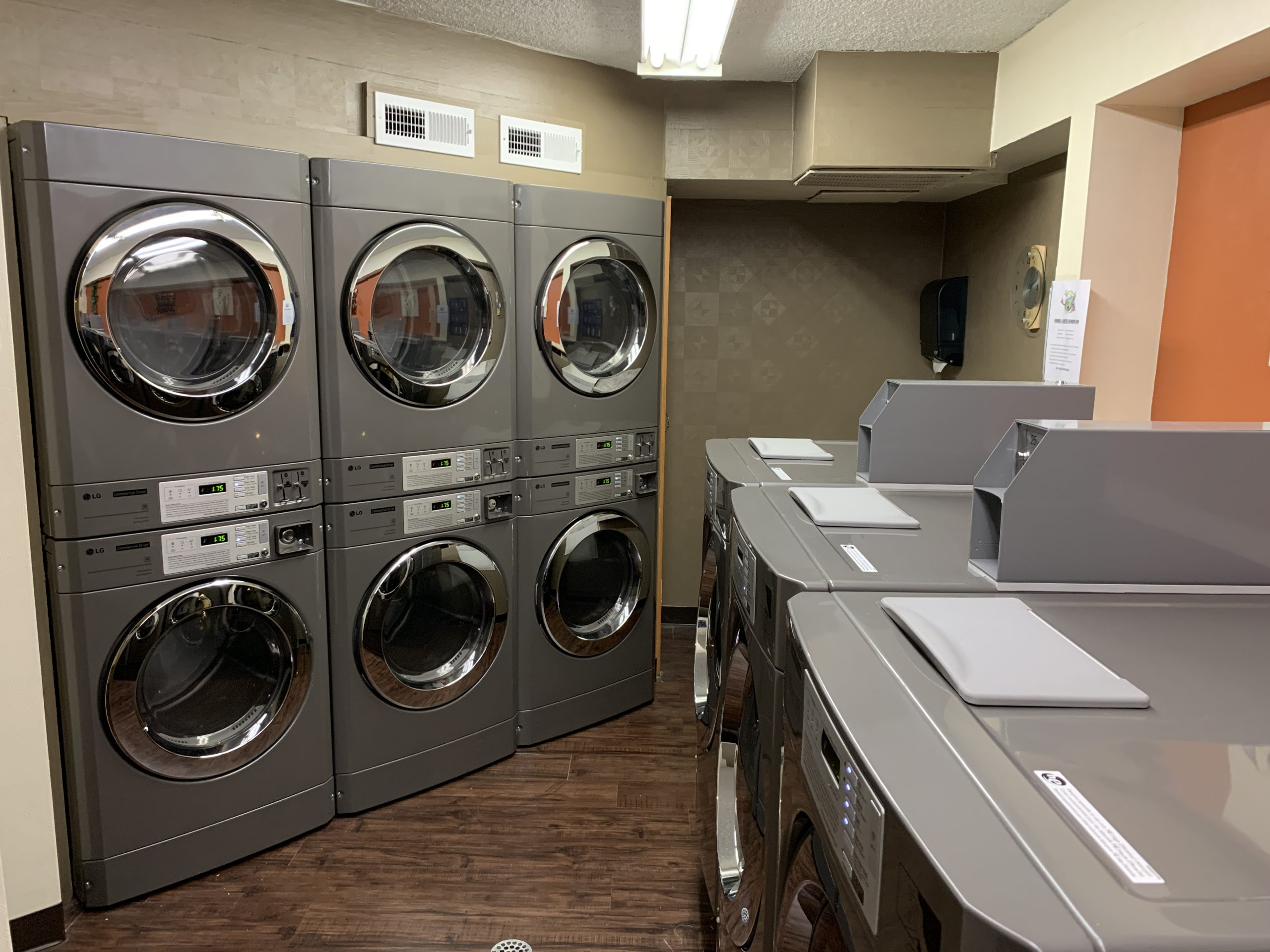 coin operated multi family laundry equipent