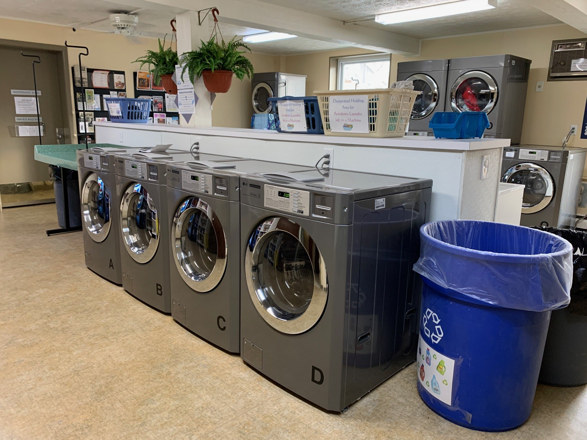 Card Operated Multi-Family Laundry Equipment In Ohio