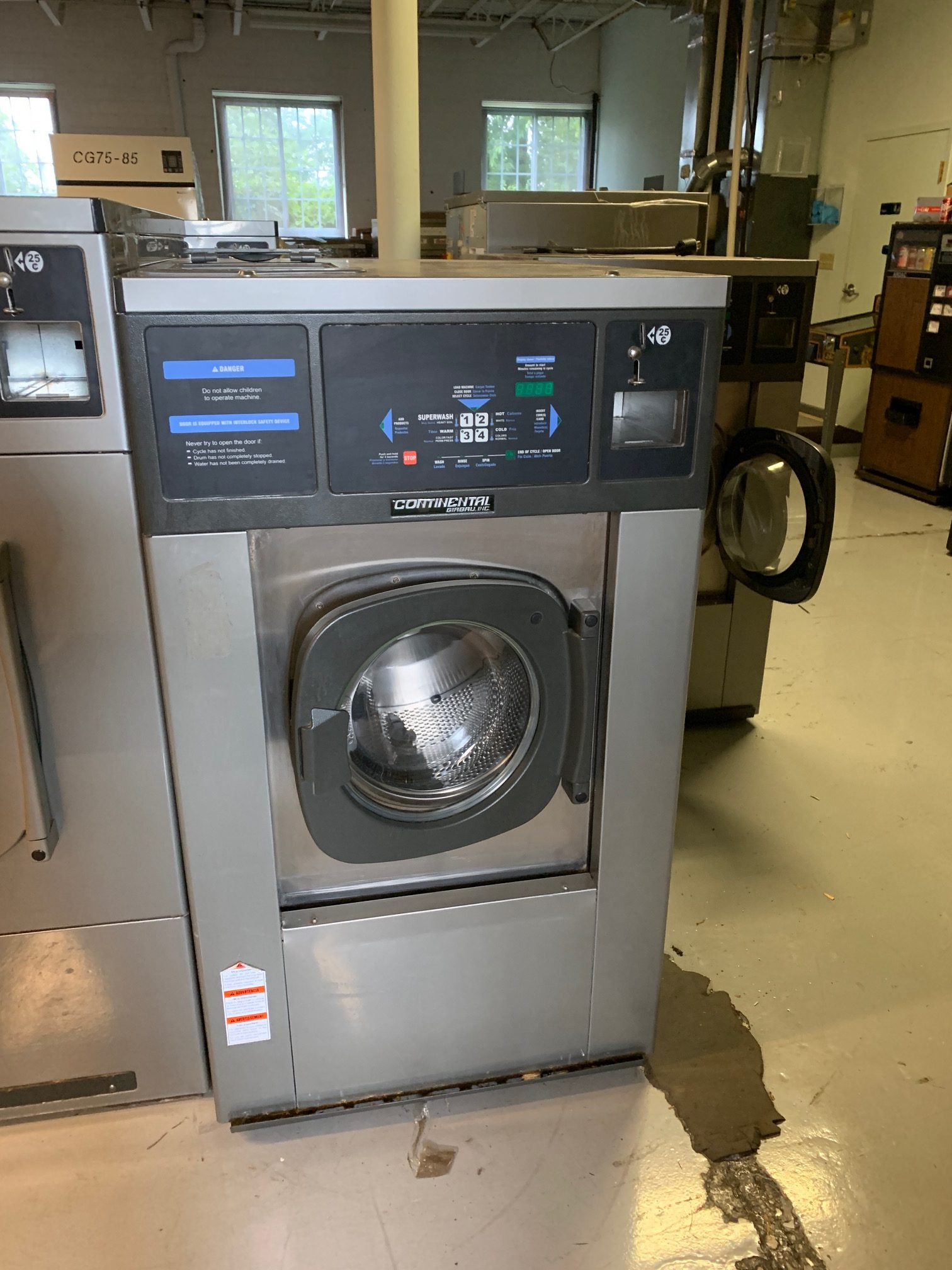 used coin washer